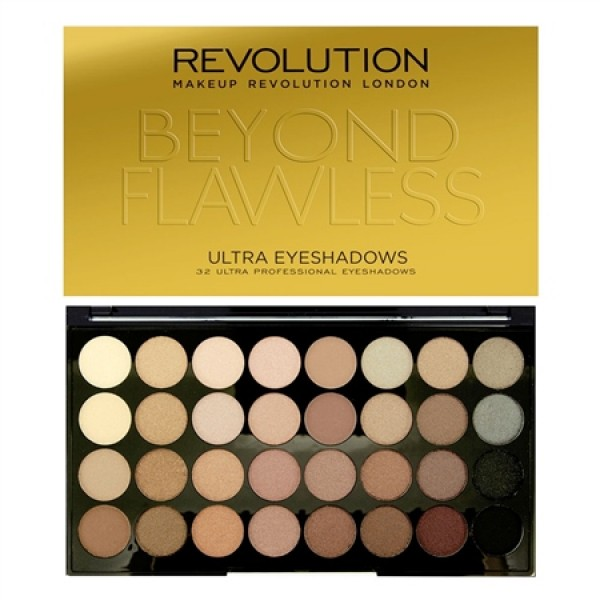 Makeup Revolution paleta 32 senčil - Beyond Flawless