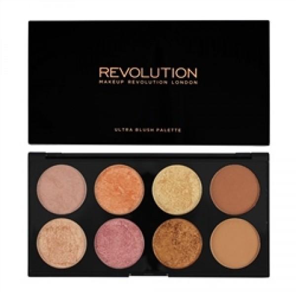 Makeup Revolution paleta rdečil - Golden Sugar 2 Rose Gold