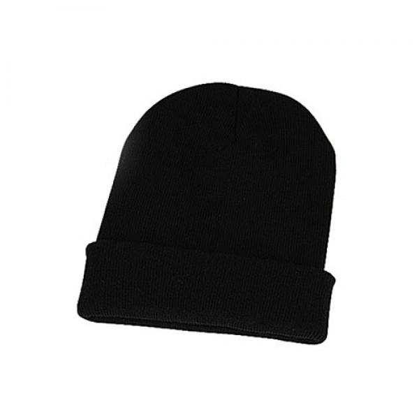 Kapca Beanie - črne barve