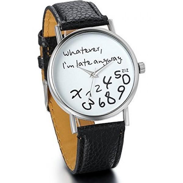 Ura Who cares, i'm already late - črna
