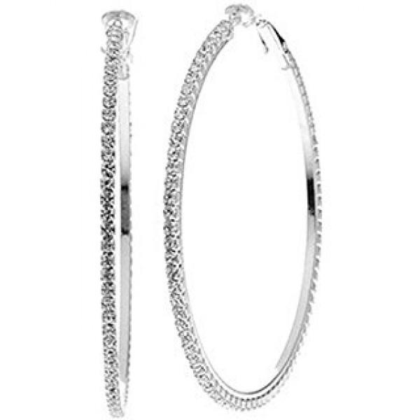 Inner circle - srebrni s kamenčki