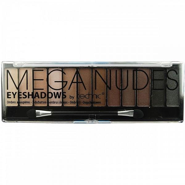 Technic Cosmetics - Mega Nudes paleta senčil