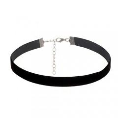 Black velvet - črna verižica (širina: 1 cm)