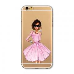 Ovitek Little pink dress