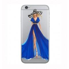 Ovitek blue dress