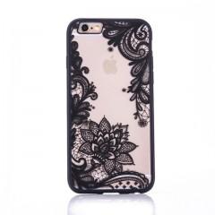 Čipkast - črne barve (Iphone 5/5S/SE&6/6S)