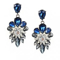 Uhani Blue Glam