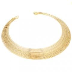 Verižica Blurred lines - zlata