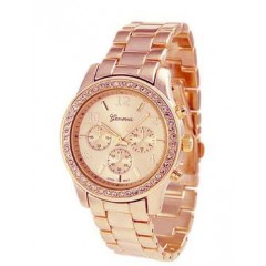 Ura At the right time - rose gold