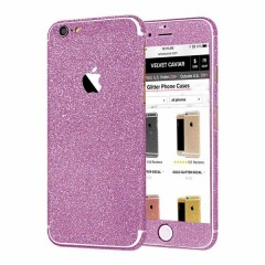 Nalepke za Iphone 5&6 Glitter - roza