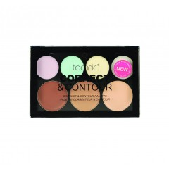 Technic Cosmetics - 7 colors Contour and Correct paleta
