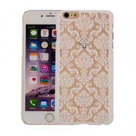 Ovitek s čipkastim vzorcem - bel (Iphone 5&6, Samsung A3, S4, S5, J5, A5, S5, S6, J7)