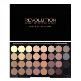Makeup Revolution paleta 32 senčil - Flawless Matte