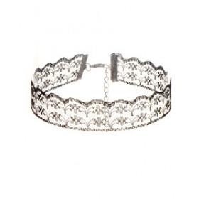 Lace choker - črna čipkasta ogrlica