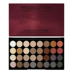 Makeup Revolution paleta 32 senčil - Flawless 2