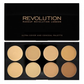 Makeup revolution - Ultra Cover & Conceal paleta korektorjev (light/medium)