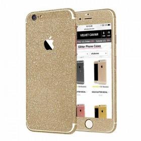 Nalepke za Iphone 5&6 Glitter - zlati