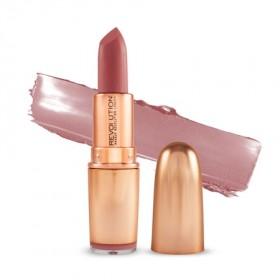 Makeup Revolution šminka - Iconic Matte Nude Revolution Lipstick - Lust