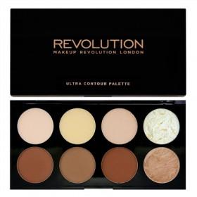 Makeup Revolution contour paleta - Ultra Contour Palette v kamnu