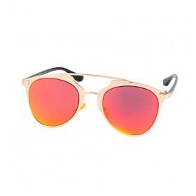 Očala Cool cat - metalic rumeno/rdeča